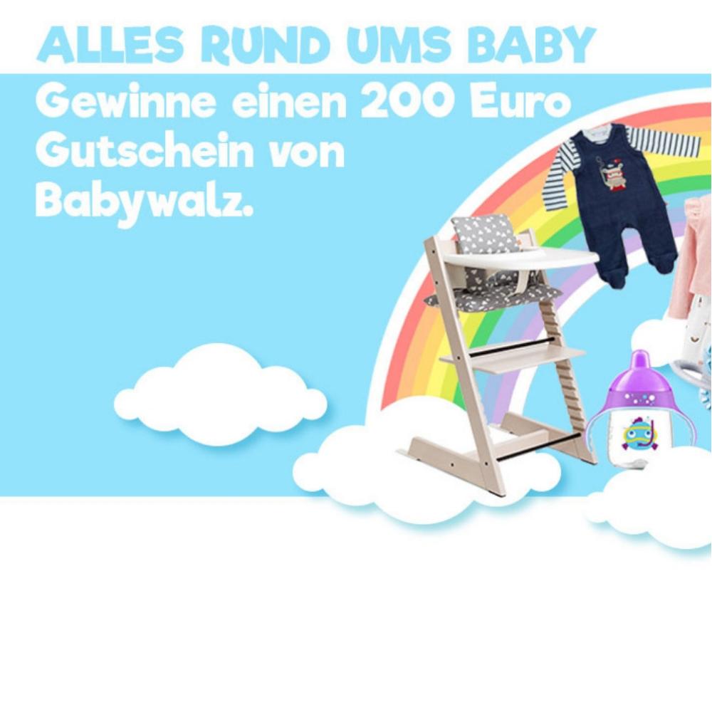 Babysachen-gewinnen Gutscheine