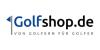 5 Euro Gutschein bei Newsletter-Registrierung auf golfshop.de