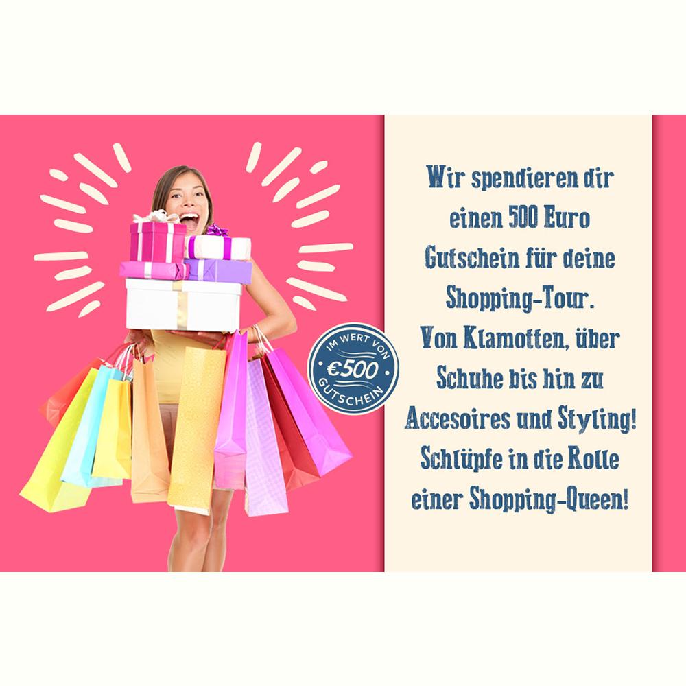 Shopping-gratis Gutscheine
